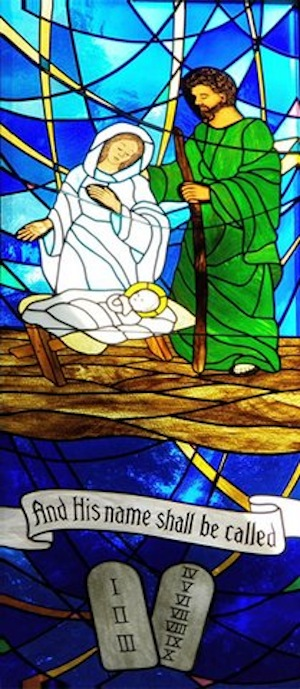 prince of peace stained glass